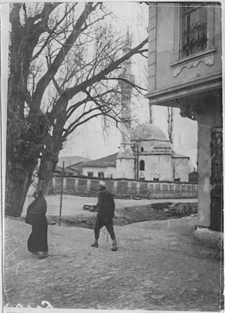 In the streets of Bitola (Monastir) (March 1917). View taken towards north