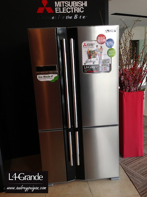 All New Stylish Mitsubishi L4 GRANDE Refrigerator