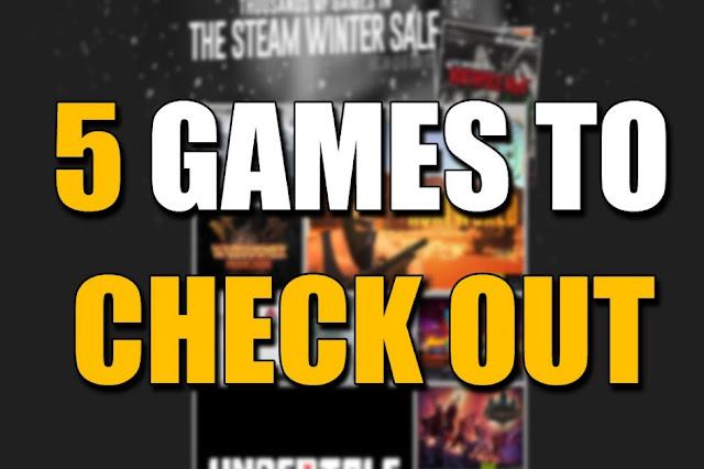 Steam Winter Sale 2016 : 5 Rekomendasi Game