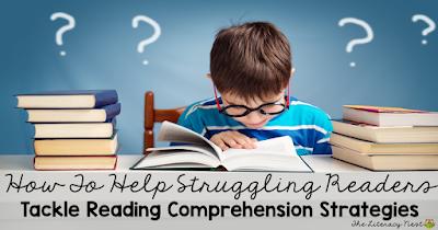 reading comprehension strategies for struggling readers