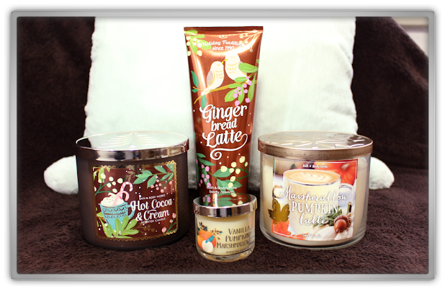Bath & Body Works Stock Up Haul and Review fall christmas winter candle body cream beauty blog blogger cozy favorites