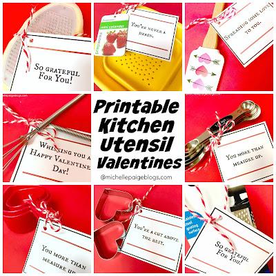 Print Your Own Kitchen Pun Valentines @michellepaigeblogs.com