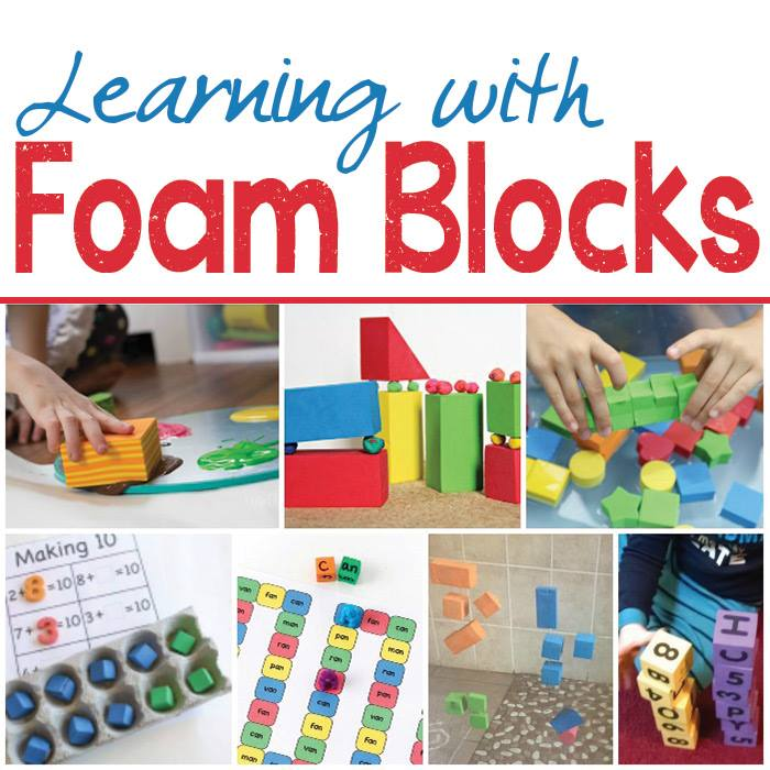 learning with foam blocks