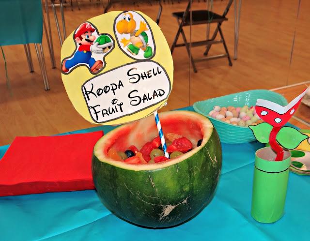 Koopa Shell Fruit Salad