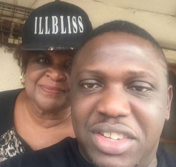 Rapper iLLbliss shares adorable selfie with his mum