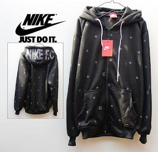 Jaket Fleece Hoodie Nike NK004