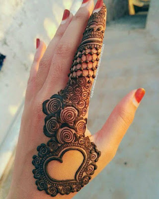 indian mehndi designs for fingers