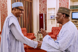 Pictures From Gowon's Visit To Buhari