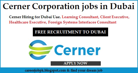 Cerner Corporation jobs in Dubai