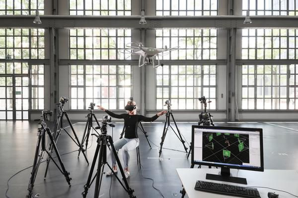Flying Drones, Your Torso Might Be the Ultimate Joystick