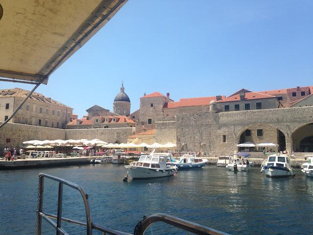 The Old Port of Dubrovnik