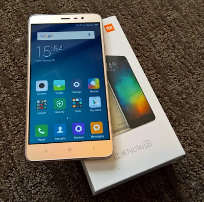 HP Xiaomi Red Note 3 Pro
