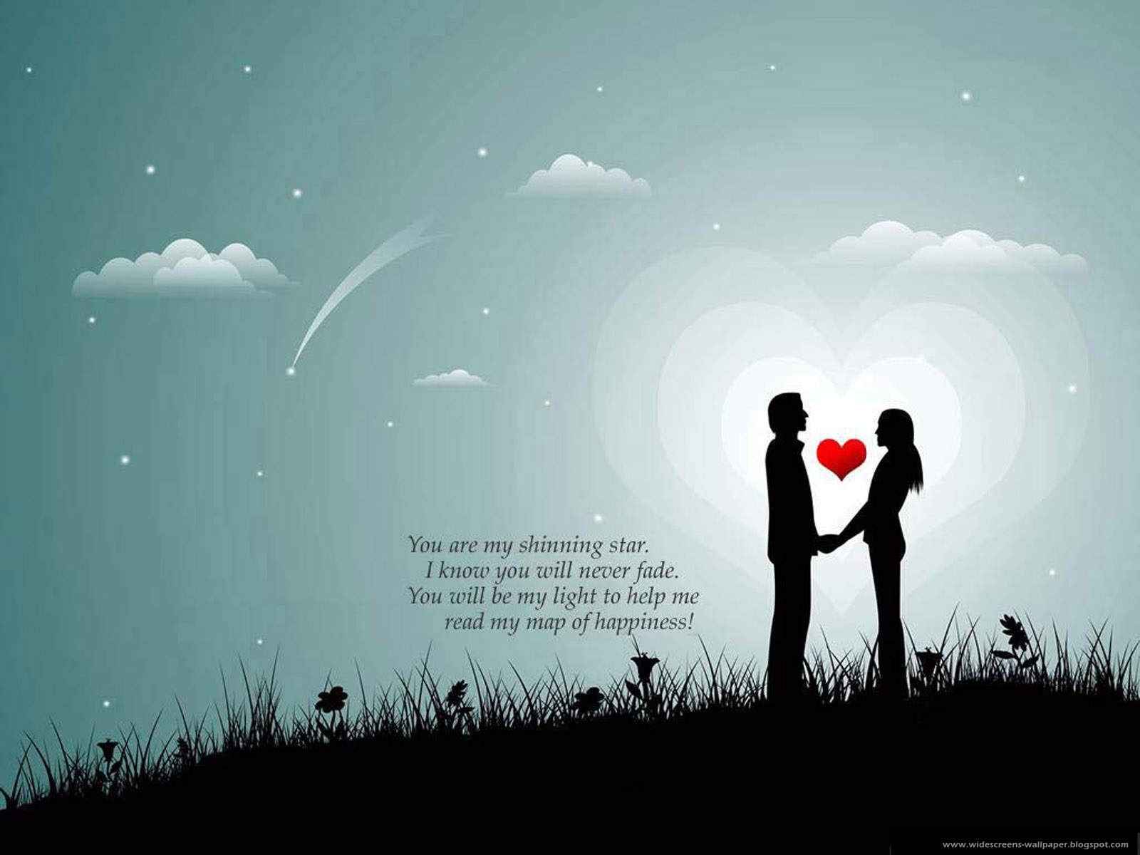 Wallpaper Collection For Your Computer and Mobile Phones: New Romantic Love Words And Quotations ...