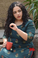 Nithya Menon promotes her latest movie in Green Tight Dress ~  Exclusive Galleries 008.jpg