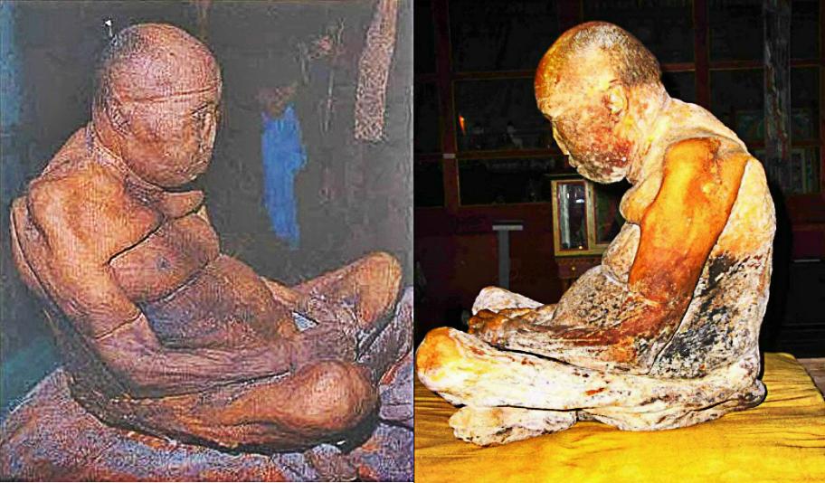 this mummified buddhist monk