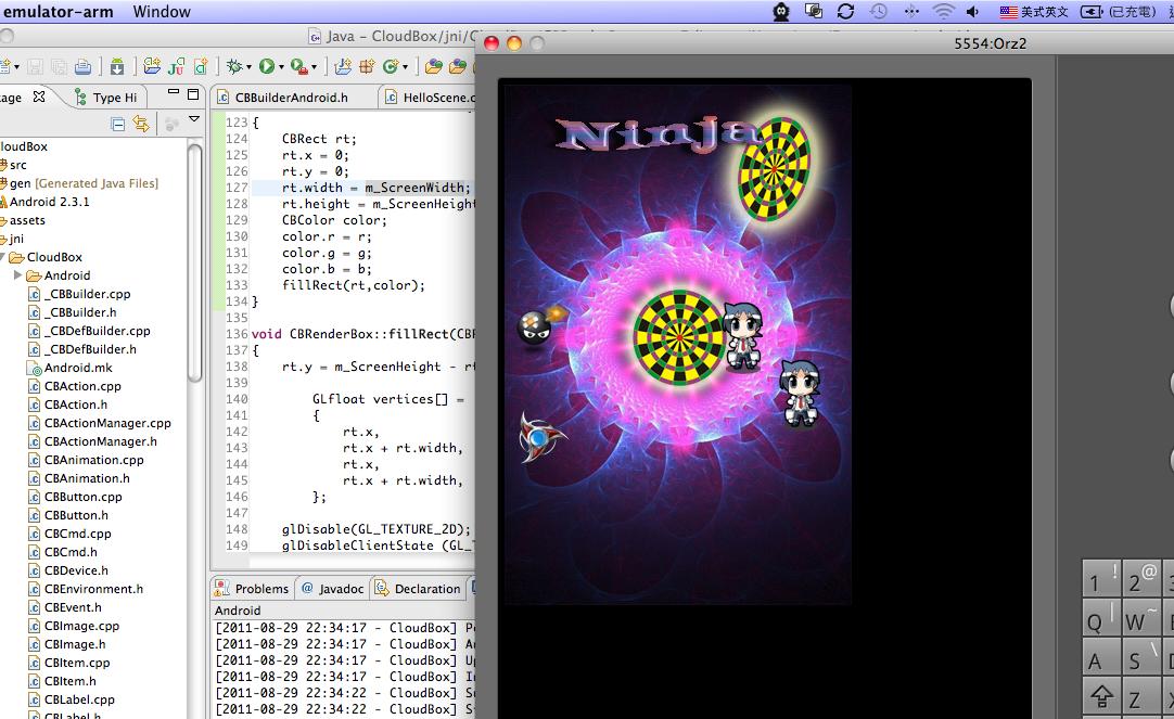 Software Architecture Cloud: Cross-platform game engine CloudBox