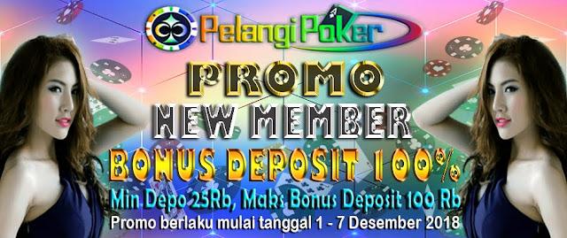 Bonus-Deposit-100%-Desember-Pelangi-Poker-2018