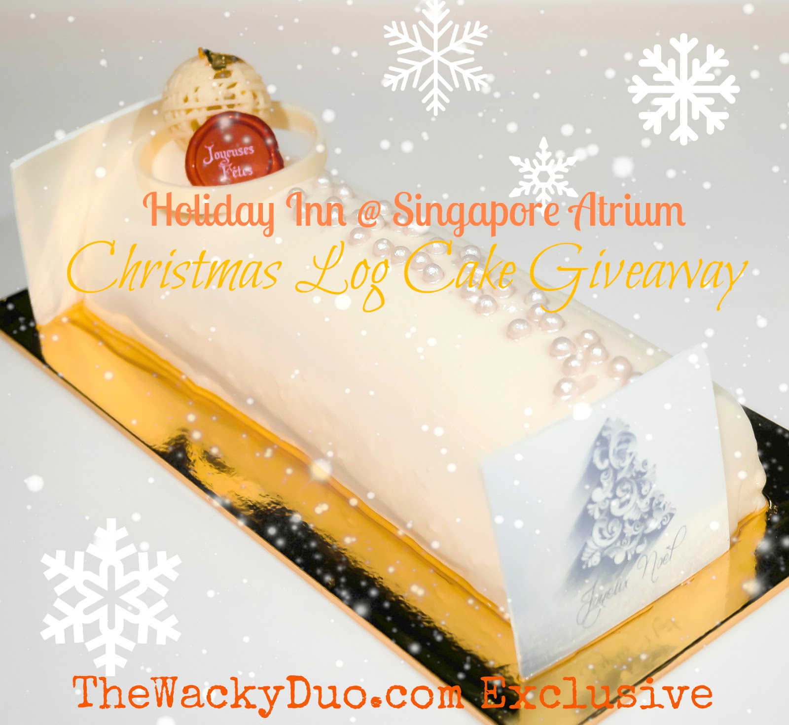 Holiday Inn @ Singapore Atrium : Christmas Buffet + Giveaway | The ...