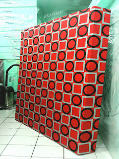 Kasur inoac motif gerai gory merah