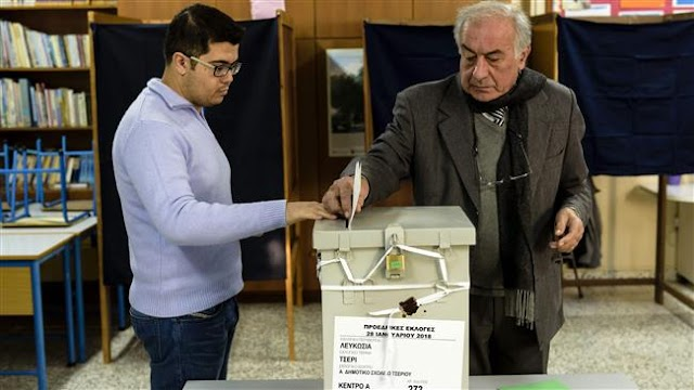 Greek Cypriots voting to elect new president