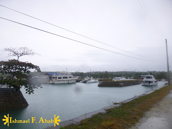 The marina near Porter Lighthouse in Lilo-an, Cebu