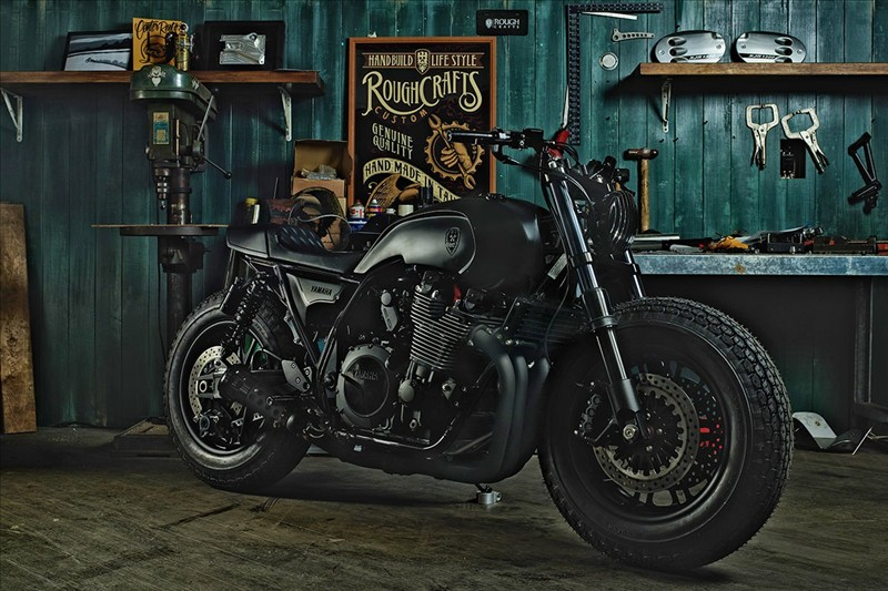 Severe men's Yamaha XJR 1300 from Rough Crafts