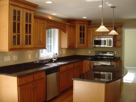 Desain Ruang Dapur Warna Coklat Info Desain Dapur 2014