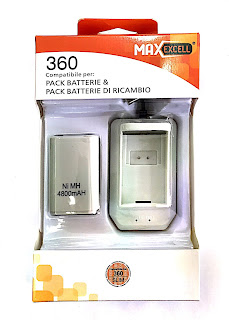 batteria ricaricabile per xbox 360