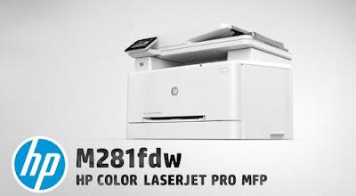HP Color LaserJet Pro MFP M281fdw Review - Free Download Driver