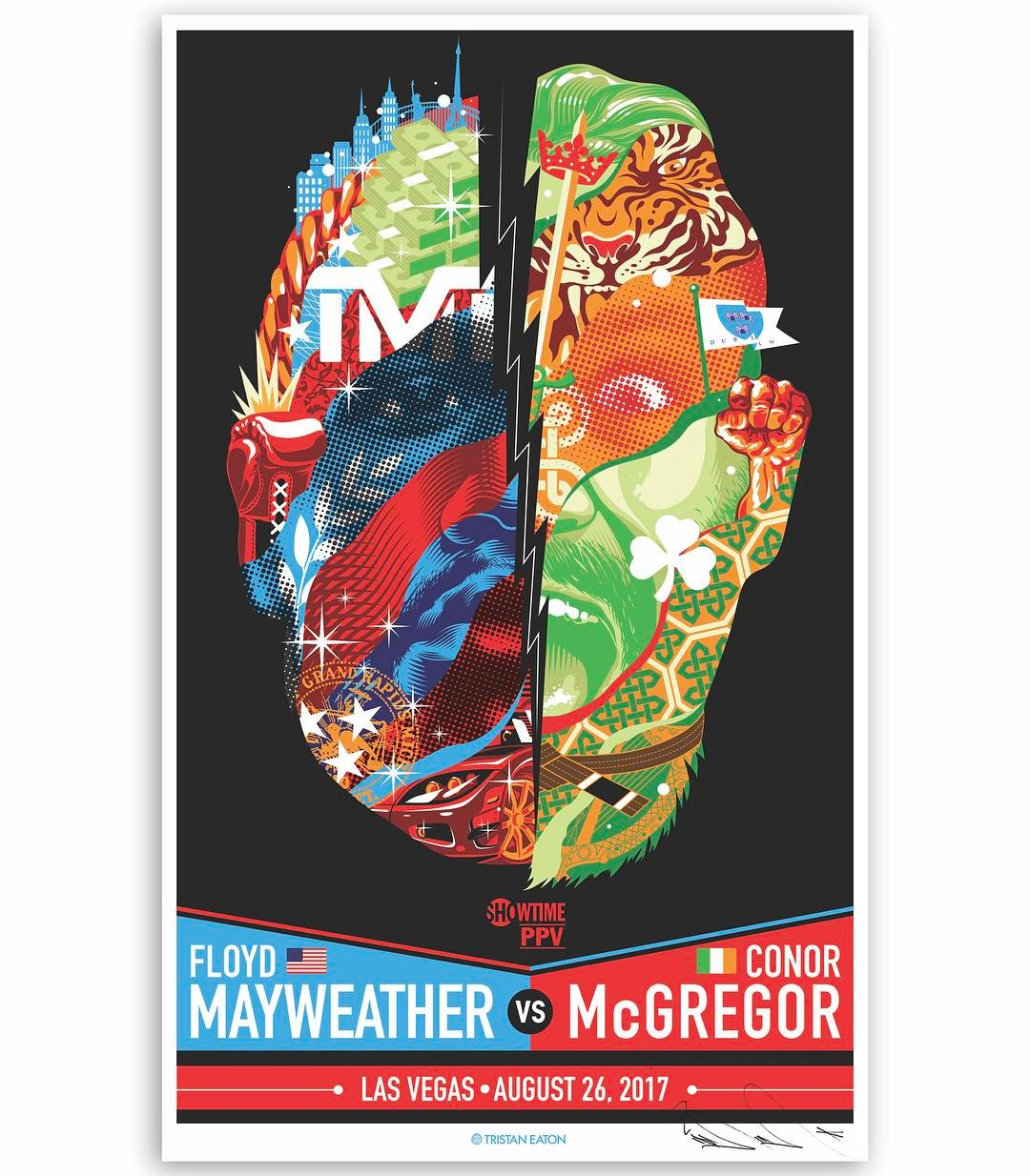 The Blot Says Mayweather Vs Mcgregor Fight Poster