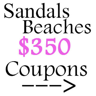 Sandals Beaches & Resorts Coupon January 2021, February 2021