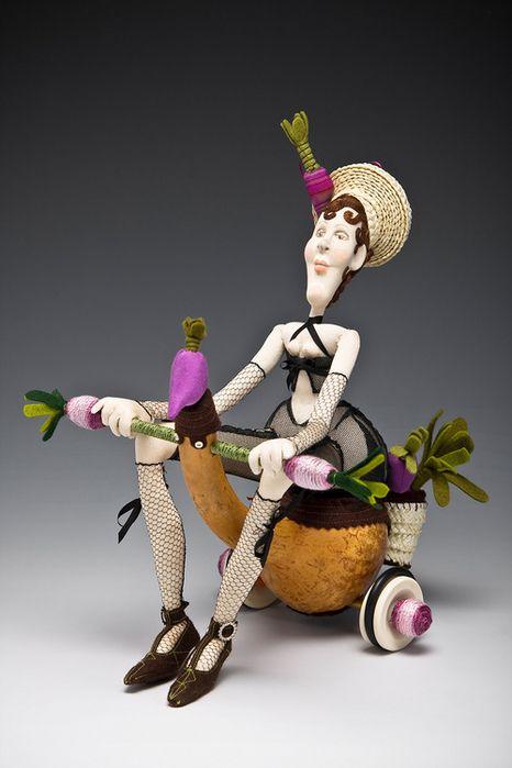 szmaciane lale i maskotki wykroje