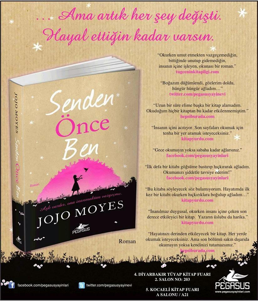 SENDEN ÖNCE BEN, JOJO MOYES