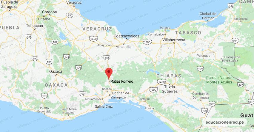 Temblor en México de Magnitud 4.4 (Hoy Lunes 11 Marzo 2019) Sismo - Epicentro - Matías Romero - Oaxaca - SSN - www.ssn.unam.mx
