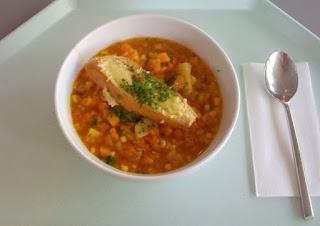 North African Pumpkin Cranberry Veggie Stew