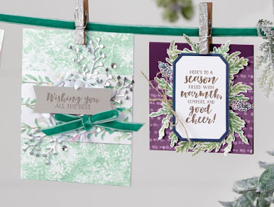 Stampin' Up! 9 First Frost Card Ideas ~ 2018 Holiday Catalog