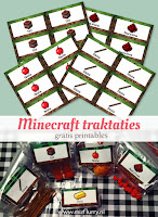 minecraft traktaties treats free printable