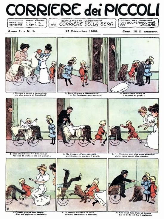 Corriere dei Piccoli, first issue 1908