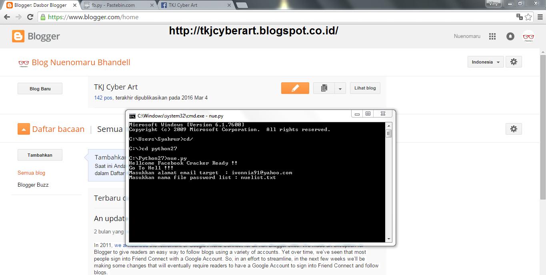 Tutorial Hack Akun Facebook dengan BruteForce Attack di Windows