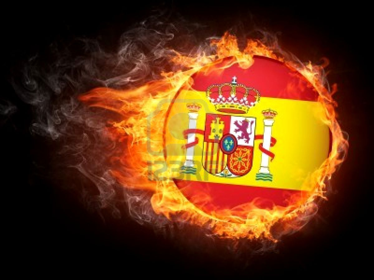 Graafix!: Wallpapers Flag of Spain