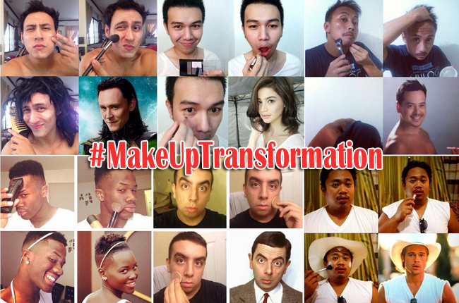 Make Up Transformation Photos with Hash Tag #MakeUpTransformation Went Viral