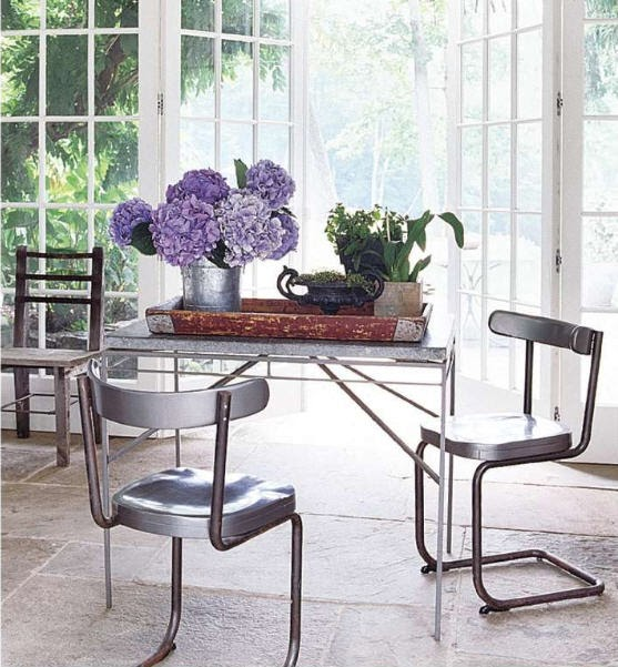Well Nested Home: Decorating With Hydrangeas