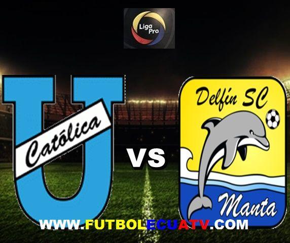 U. Católica recibe a Delfín en vivo desde las 16h00 horario programado por la FEF a jugarse en el campo Olímpico Atahualpa continuando la fecha 16 de la Serie A Ecuador, con arbitraje principal de Roddy Zambrano siendo emitido por los canales autorizados GolTV, CNT y DirecTV Sports.