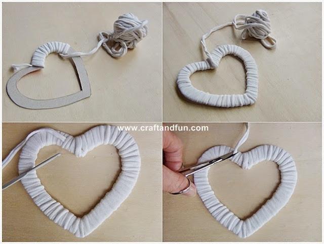 Popolare Riciclo Creativo - Craft and Fun: San Valentino: decorazioni per  DE08