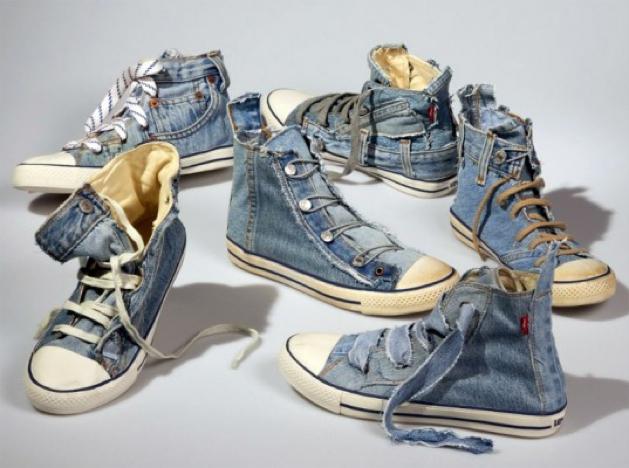 d4668841647716 DIY Reuse Your Old Jeans OAK Chucks
