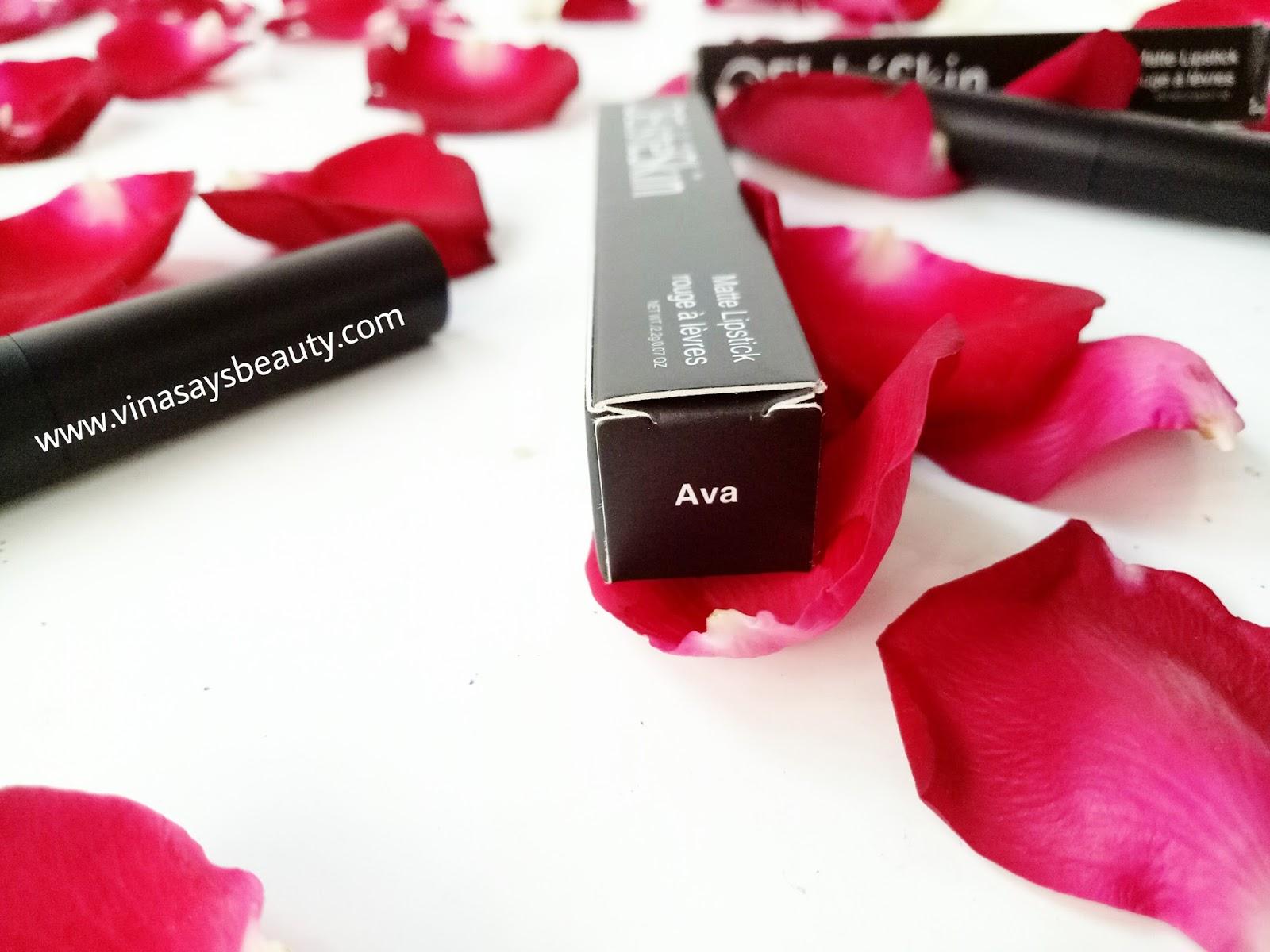 Sp Review Elsheskin Matte Lipstick Vina Says Beauty Rossana