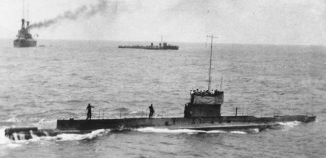 Hallan los restos del AE1 submarino australiano desaparecido