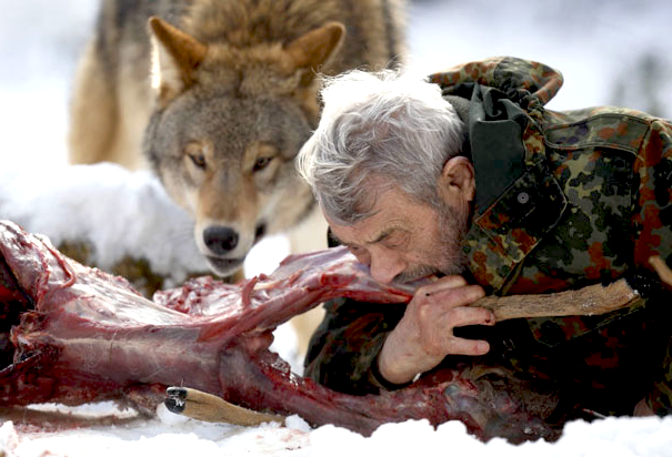 The real werewolf | See weird pictures