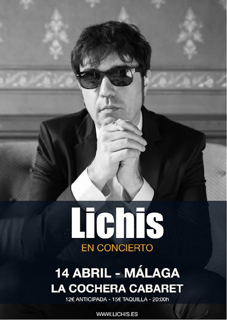 Concierto de Lichis en Málaga
