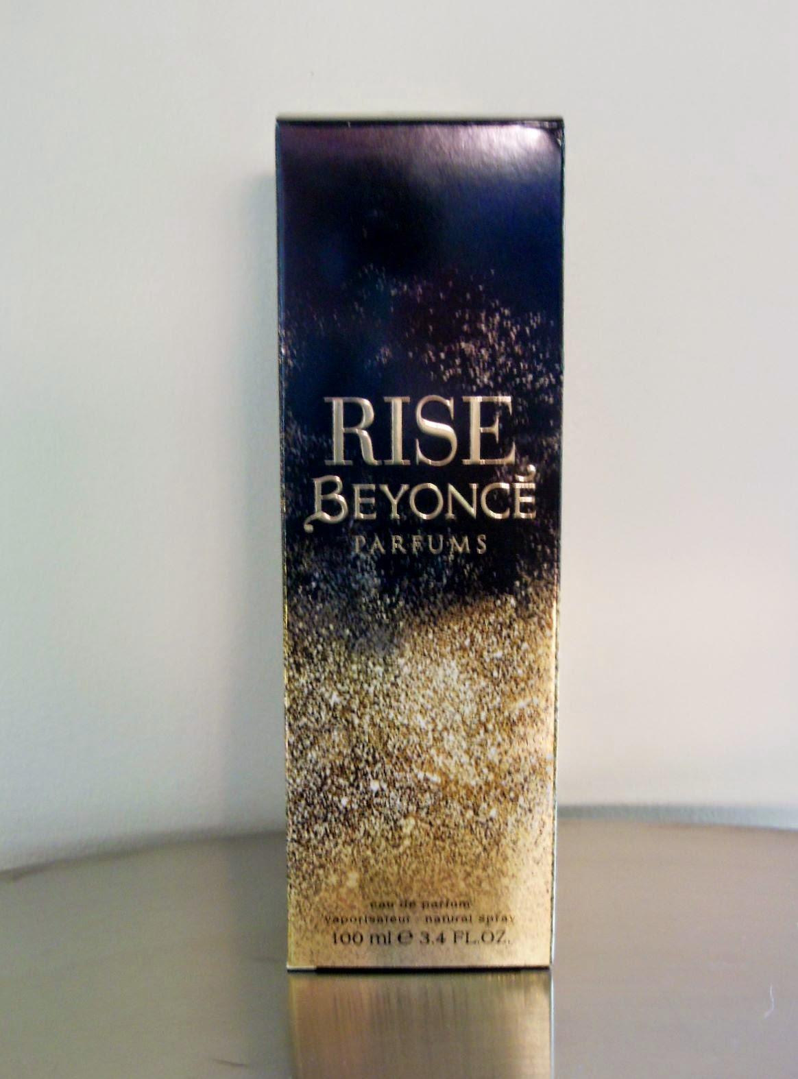 Product Review Beyonce Rise Eau De Parfum The Beauty Lifestyle